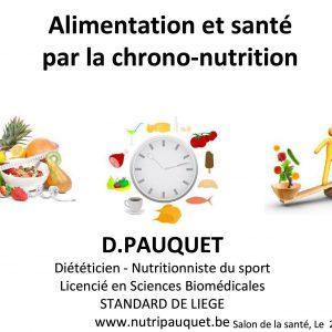 Conférence «Alimentation et santé par la chrono-nutrition»